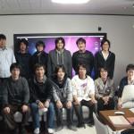 研究室メンバー集合写真2011