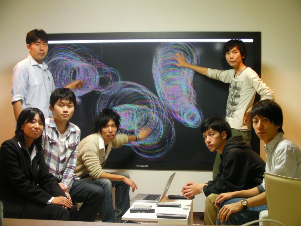 研究室メンバー集合写真2010