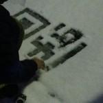 雪面QRコード作成
