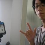 撮影班のB4松浦
